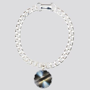 HIDDEN BLACK HOLE Charm Bracelet, One Charm