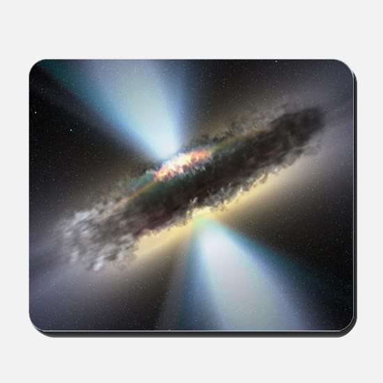 HIDDEN BLACK HOLE Mousepad