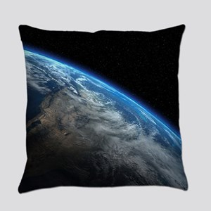 EARTH ORBIT Everyday Pillow