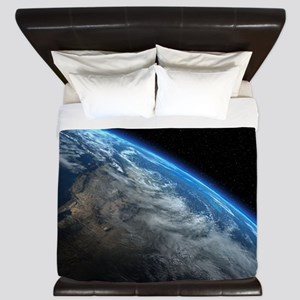 EARTH ORBIT King Duvet