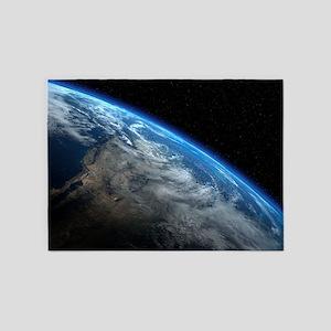 EARTH ORBIT 5'x7'Area Rug