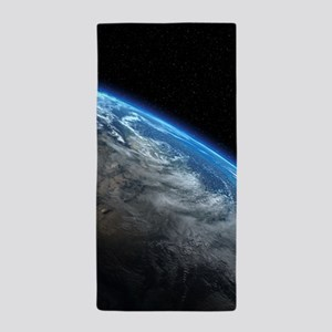 EARTH ORBIT Beach Towel