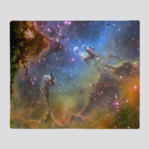 EAGLE NEBULA Throw Blanket