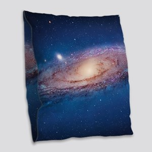 ANDROMEDA Burlap Throw Pillow