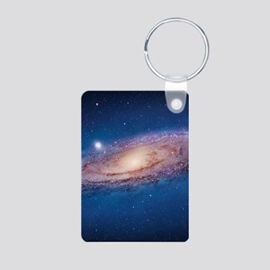 ANDROMEDA Aluminum Photo Keychain