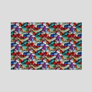 drugs pills Rectangle Magnet