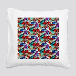 drugs pills Square Canvas Pillow