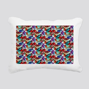 drugs pills Rectangular Canvas Pillow