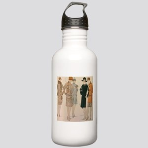 Flapper Autumn Fashion Stainless Water Bottle 1.0L