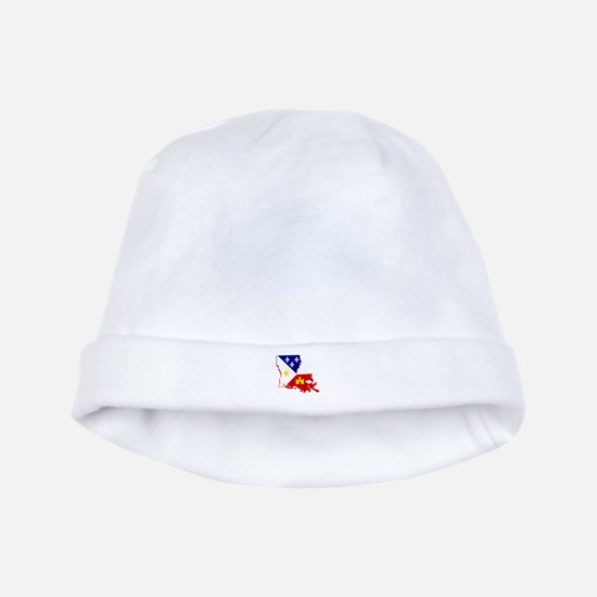 Acadiana State of Louisiana baby hat