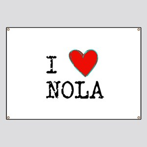 I Love NOLA Banner