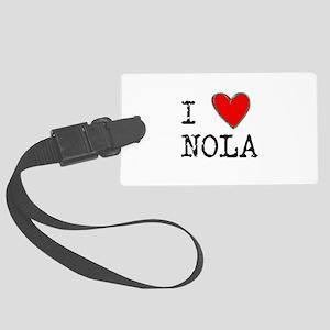 I Love NOLA Large Luggage Tag