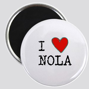 I Love NOLA Magnets