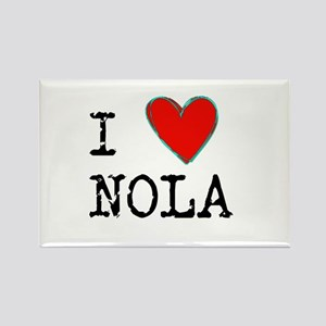 I Love NOLA Magnets