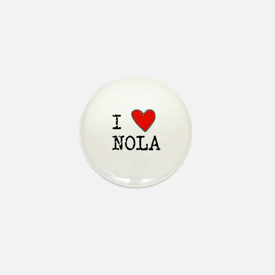 I Love NOLA Mini Button