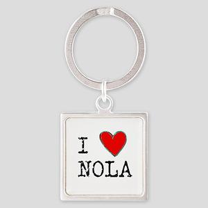 I Love NOLA Keychains