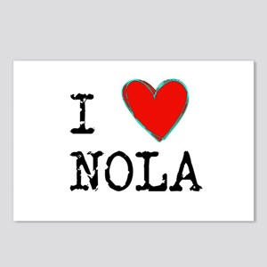 I Love NOLA Postcards (Package of 8)