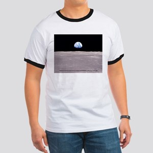 Earthrise on Moon Apollo 11 T-Shirt