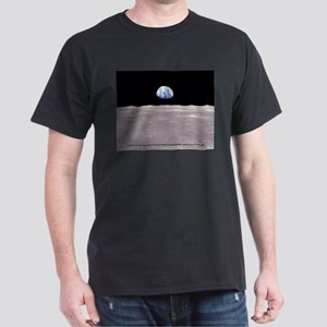 Earthrise on Moon Apollo 11 T-Shirt