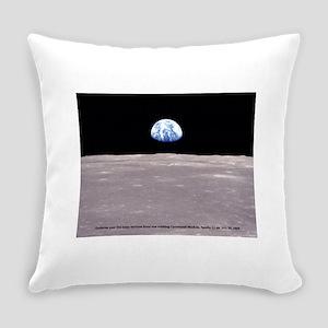 Earthrise on Moon Apollo 11 Everyday Pillow