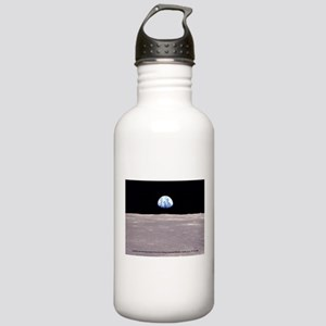 Earthrise on Moon Apol Stainless Water Bottle 1.0L