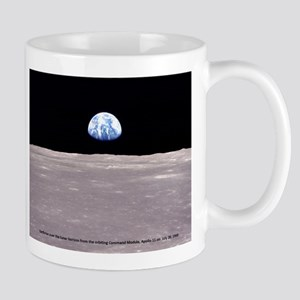 Earthrise on Moon Apollo 11 Mugs
