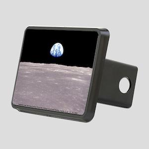 Earthrise on Moon Apollo 1 Rectangular Hitch Cover