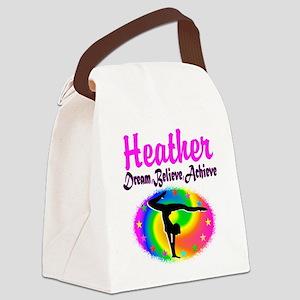 GYMNAST QUEEN Canvas Lunch Bag