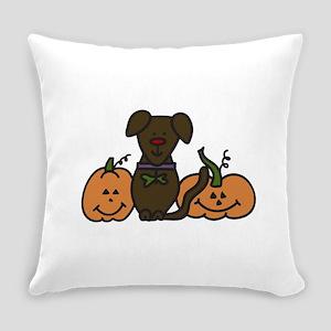 Halloween Dog Everyday Pillow
