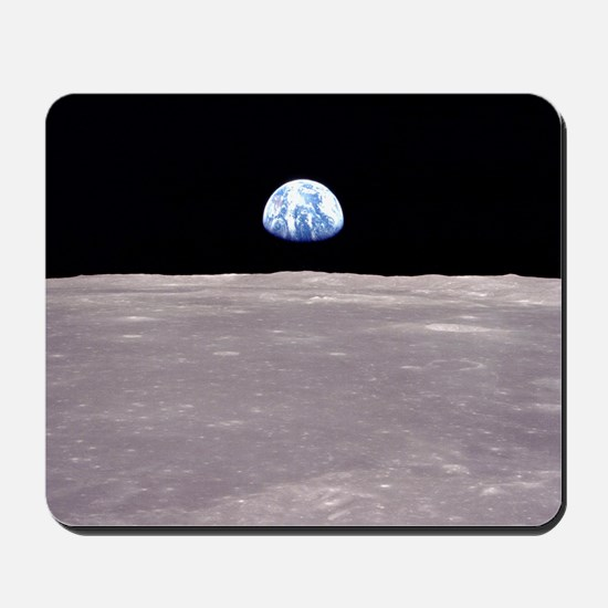 Apollo 11Earthrise Mousepad