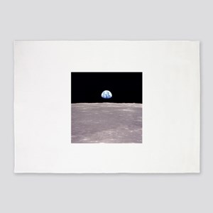 Apollo 11Earthrise 5'x7'Area Rug