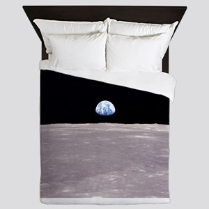 Apollo 11Earthrise Queen Duvet