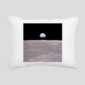 Apollo 11Earthrise Rectangular Canvas Pillow