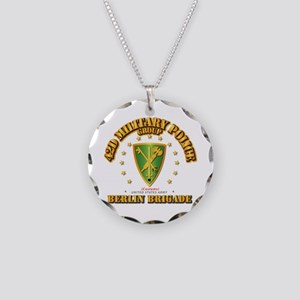 42d MP Group (Customs) - Ber Necklace Circle Charm
