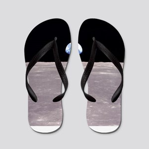 Apollo 11Earthrise Flip Flops