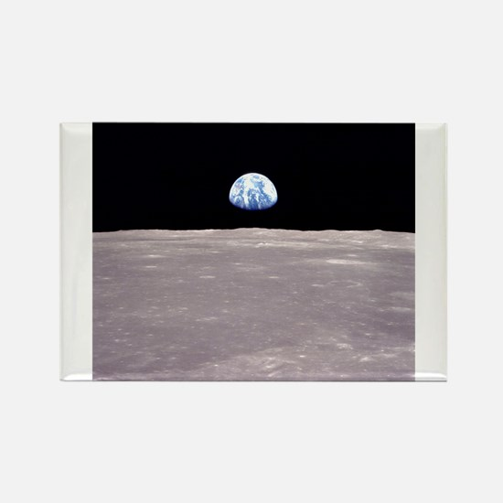 Apollo 11Earthrise Magnets
