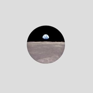 Apollo 11Earthrise Mini Button