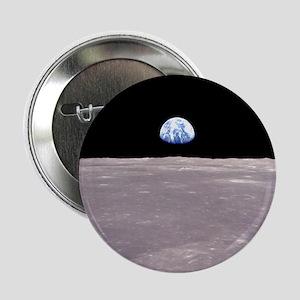 """Apollo 11Earthrise 2.25"""" Button"""