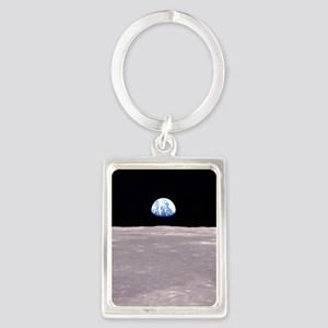 Apollo 11Earthrise Keychains