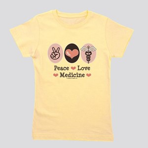 Peace Love Medicine Caduceus T-Shirt