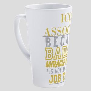 Personalize Work 17 oz Latte Mug