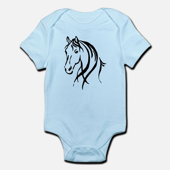 Horse head baby gifts horse head body suit negle Images
