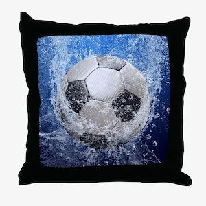 Ball Splash Throw Pillow