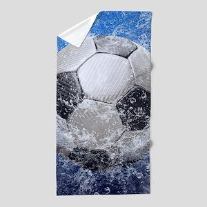 Ball Splash Beach Towel