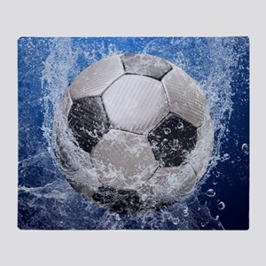 Ball Splash Throw Blanket