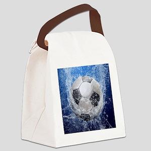 Ball Splash Canvas Lunch Bag
