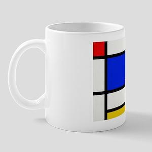 Mondrian-2a Mug Mugs
