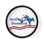 Kick Ass Democrat Activist Clock