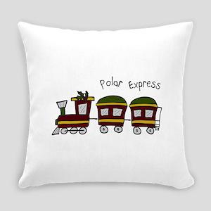 Polar Express Everyday Pillow