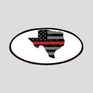 Texas Firefighter Thin Red Line Patch